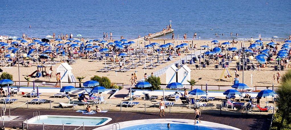 Jesolo beach, Veneto, Italy