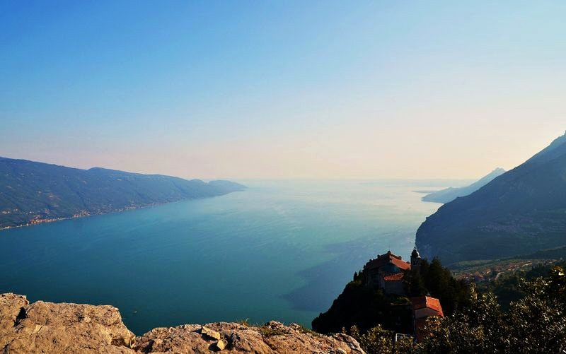 Tignale – enjoy beautiful views of Lago di Garda