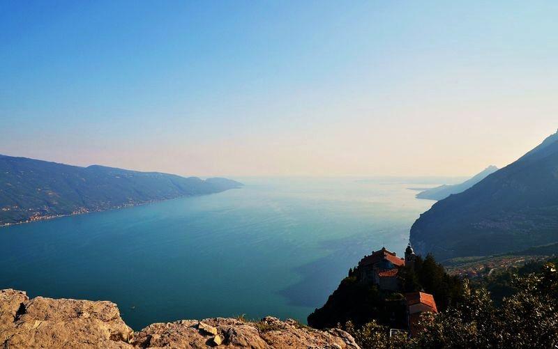 Tignale – enjoy beautiful views of Lago di Garda