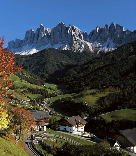 Val di Funes, South Tyrol, Dolomites, Italy