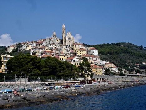 Village of Cervo, Liguria, Italy