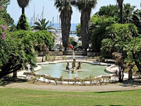Gardens of Sanremo, Liguria, Italy