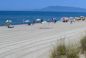 Capalbio beach