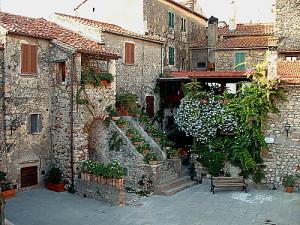 capalbio historic city center