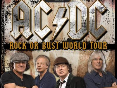 ACDC Concert 9 July 2015 IMOLA – Unique Italian date!!!