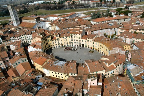 Lucca the famous point