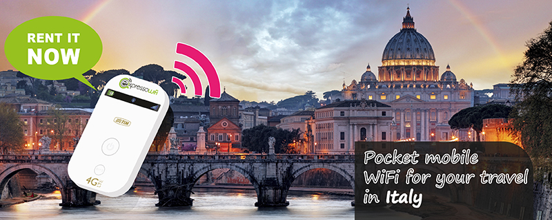 Internet in Italy without roaming charges
