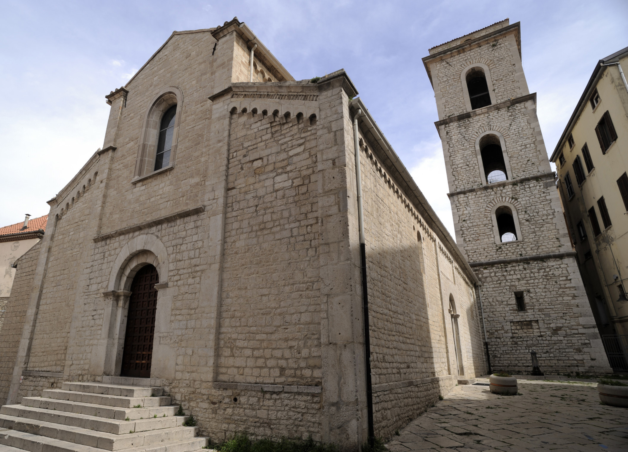 church of san michele arcangelo, potenza, basilicata, italy