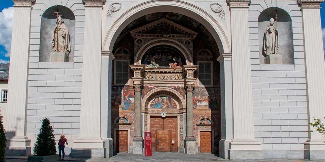 Santa Maria Assunta Cathedral Aosta