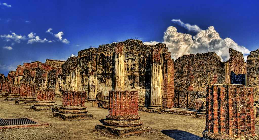 pompeii italy visit