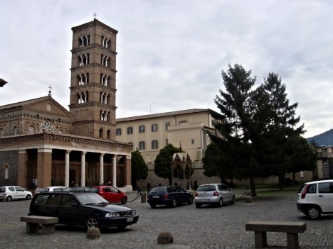 Abbey of San Nilo, Grottaferrata, Lazio, Italy