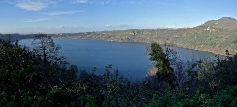 Lake Albano, Lazio, Italy