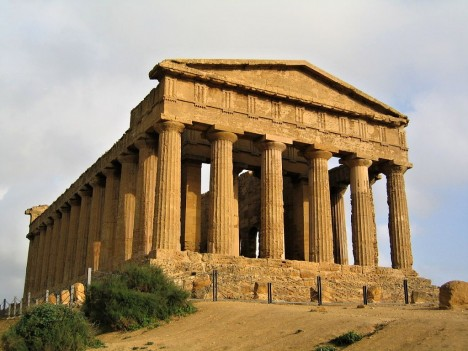 Temple of Concordia - Agrigento, Sicily, Italy