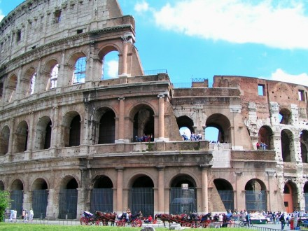 Coloseum, Rome, Italy