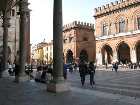 Cremona, Square, Lombardia, Italy