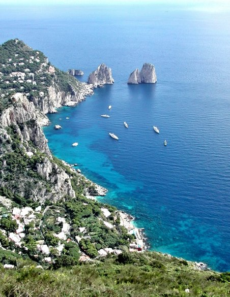 Capri island, Campania, Italy