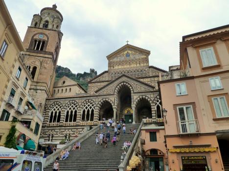 Amalfi Dome, Campania, Italy