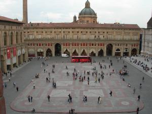 Bologna, Piazza Maggiore, Italy