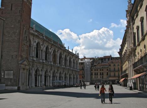 Palazzo della Ragione, Vicenza, Veneto, Italy