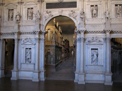 Teatro Olimpico, Vicenza, Veneto, Italy