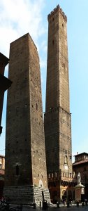 Towers of Bologna, Italy