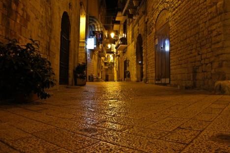 Streets of Bari, Apulia, Italy