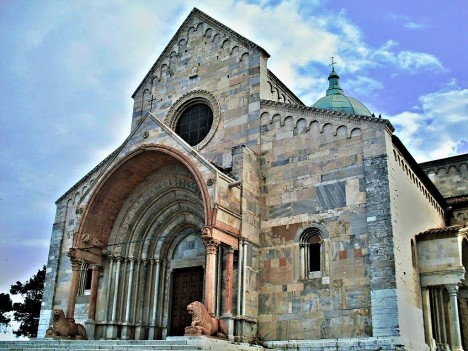 Ancona cathedral, Marche, Italy