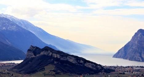 Lago di Garda from Monte Colodri, Arco, Trentino-Alto Adige, Italy
