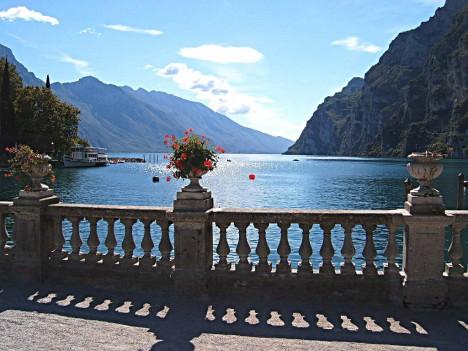 Lago di Garda from Riva del Garda, Trentino-Alto Adige, Italy
