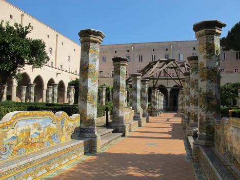 Monastery of Santa Chiara, Naples, Campania, Italy