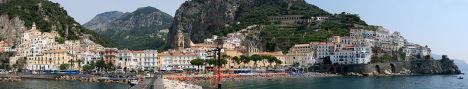 Amalfi panorama, Campania, Italy
