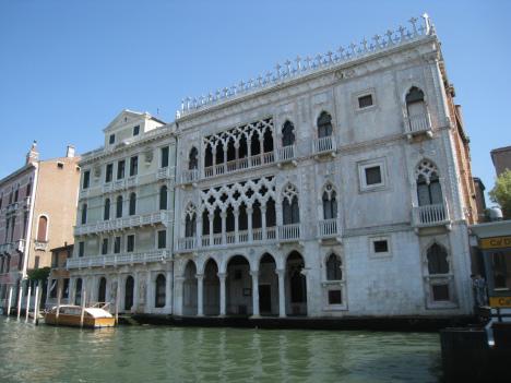 Ca' d'Oro Palace, Venice, Italy