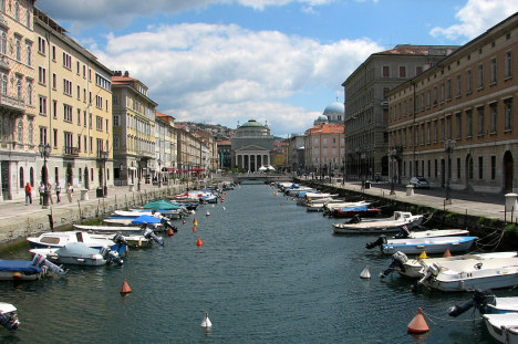Canal Grande, Trieste, Friuli-Venezia Giulia, Italy