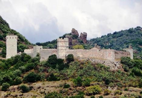 Castello di Serravalle (Castello Malaspina), Bosa, Sardinia, Italy