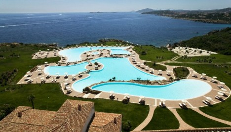Colonna resort hotel, Sardinia, Italy
