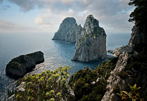 The Faraglioni of Capri, Campania, Italy