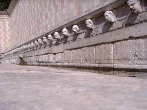 Fontana delle 99 Cannelle, L'Aquila, Abruzzo, Italy