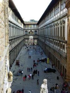Gallery degli Uffizi, Florence, Tuscany, Italy