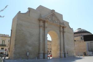 Lecce Porta Napoli in Universita Street, Lecce, Puglia, Italy
