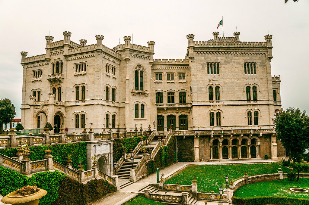 Miramare Castle And The Park Trieste Italy Visititaly Info