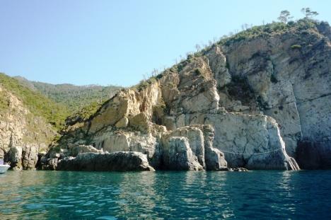 Coast of Moneglia, Liguria, Italy
