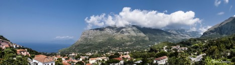 Panorama of Maratea, Basilicata, Italy