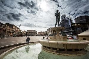 Piazza Duomo, L'Aquila, Abruzzo, Italy