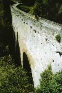 Pont d'Aël Aqueduct, Italy