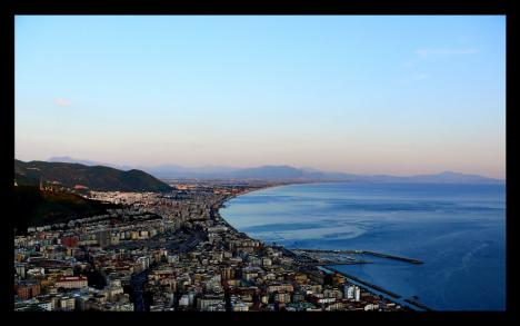 Salerno panorama, Campania, Italy