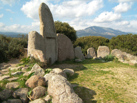 Tombs of Giants, Sardinia, Italy