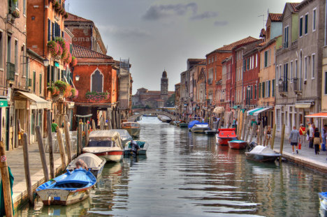Murano channel, Italy