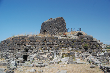 Nuraghe - Stone Tower in Sardinia, Italy