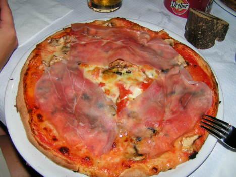 Best pizza I ever ate, Finale di Pollina, Sicily, Italy