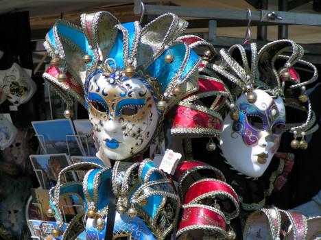 Italian Venetian Masks